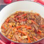 Low Fat Venison Sausage Casserole