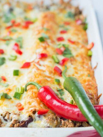 Quorn Enchiladas