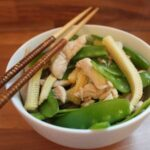 Stir Fried Chicken and Baby Corn