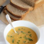 "This carrot and lentil soup is one of my all time favourites. Simple, tasty and extremely filling. It's amazing that you can just take a few very simple vegetable ingredients, add a few cupboard spices and ""hey presto"" it's transformed into a low cost, delicious, nutritious lunchtime staple that tastes just great!"