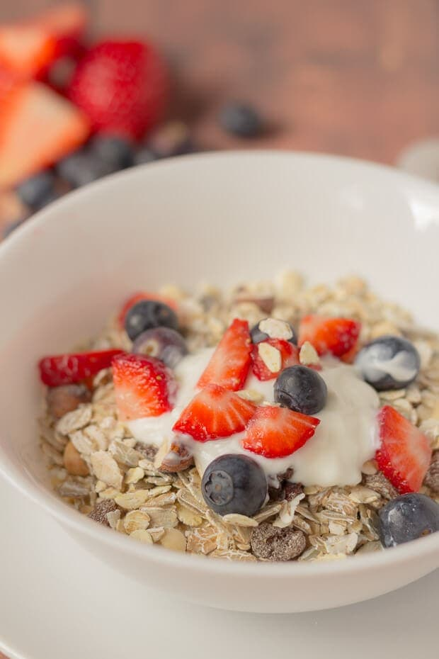 Home-made muesli often turns out to be cheaper and much healthier than shop bought. This is an easy home-made muesli recipe containing no added artificial ingredients and makes 12 portions.