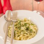 Tagliatelle With Home-made Pesto