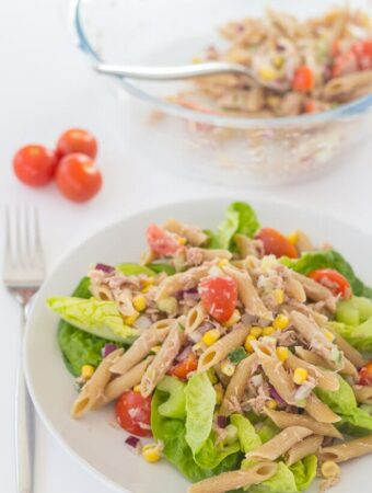 Tuna Pasta And Sweetcorn Salad