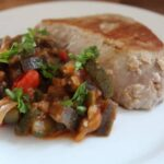 Ratatouille and Tuna Steak