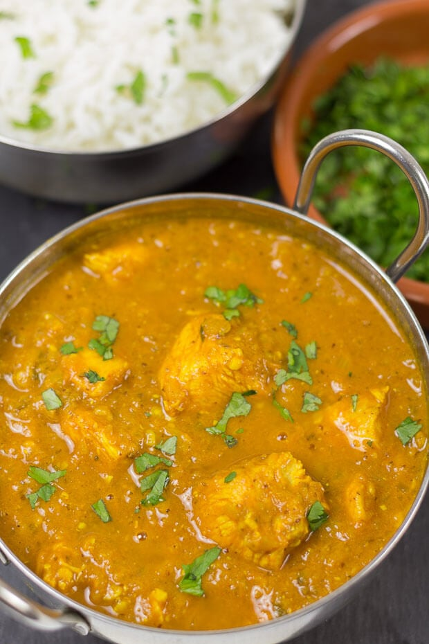 This chicken vindaloo is my take on the amazingly flavoursome classic dish. It's so tasty it's actually become one of my most favourite curries. Make it and you'll see what I mean!