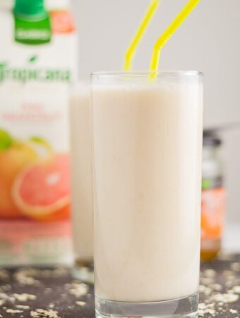Grapefruit Oatie Smoothie