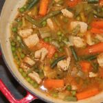 Low Fat Summer Turkey Stew