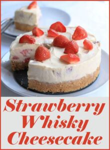 Strawberry Whisky Cheesecake Pin