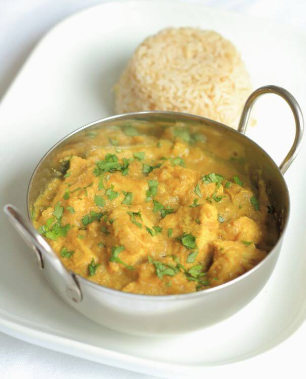 Lighter Chicken Korma