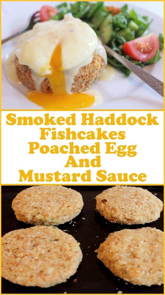 These delicious home made smoked haddock fishcakes are coated in wholemeal breadcrumbs and then oven baked, making this a much healthier fishcake than if they were fried. Home cooking and healthy cooking at it's very best.