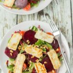 Halloumi and Beetroot Salad