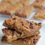 Pecan Nut Biscuit Bars