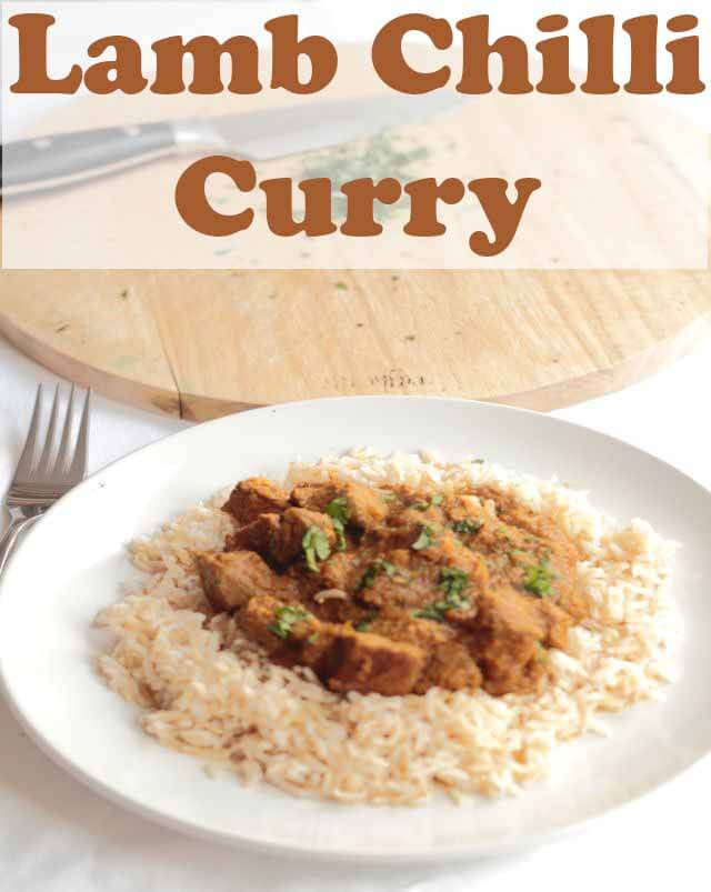 Lamb chilli curry recipe is an easy Indian curry that will have your taste buds simply tingling in delight as they experience first, the tender marinated lamb then second, the rich chilli sauce. #neilshealthymeals #recipe #lamb #lambcurry