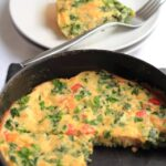 Kale and Pepper Frittata