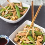 Stir Fry Turkey with Sugar Snap Peas