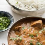 This skinny lamb curry is great when you want to enjoy the full flavours of a lamb curry without the guilty feeling of adding to your waist line. You'll love the taste of the tender lean lamb marinated in it's delicious curry sauce!