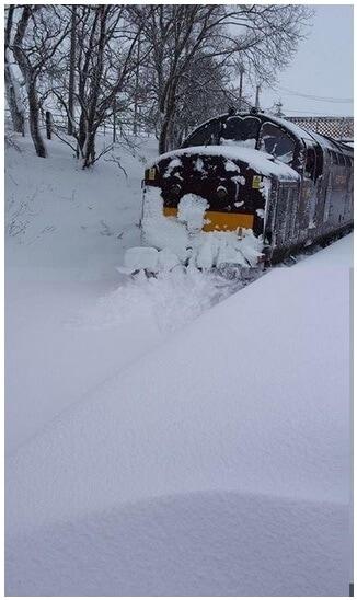 Railway Snowplow