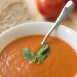 Simple Skinny Tomato Soup Main