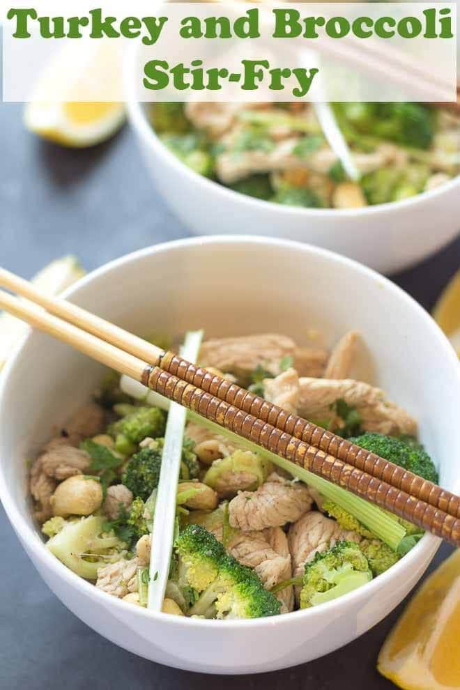 Turkey and broccoli stir fry is a fantastic quick healthy meal. A cost conscious stir fry it's ideal for those on limited budgets. Tasty, easy to prepare and packed full of nutritional goodness too! #neilshealthymeals #recipe #turkey #broccoli #stirfry