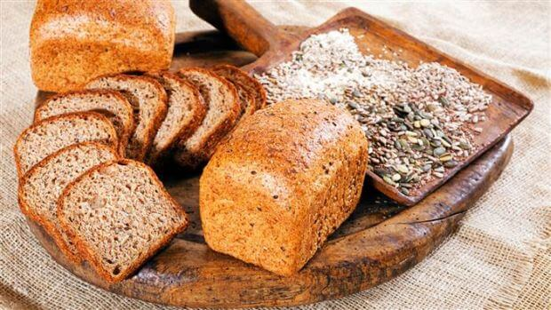 Maintain a healthy body by eating whole grains.