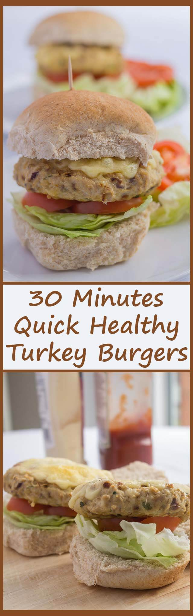 Healthier and lower in fat, these tasty turkey burgers are not only quick to prepare but kids just love them.