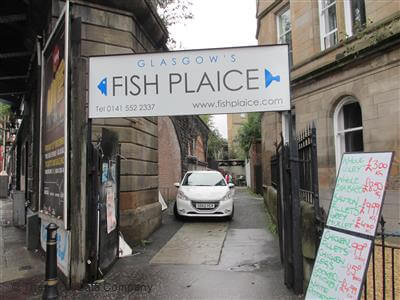 Photograph of The Fish Plaice Glasgow