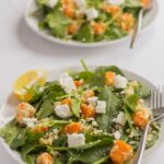 Sweet Potato Goats Cheese and Couscous Salad
