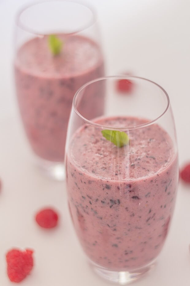Blueberry Apple Smoothie Featured Image