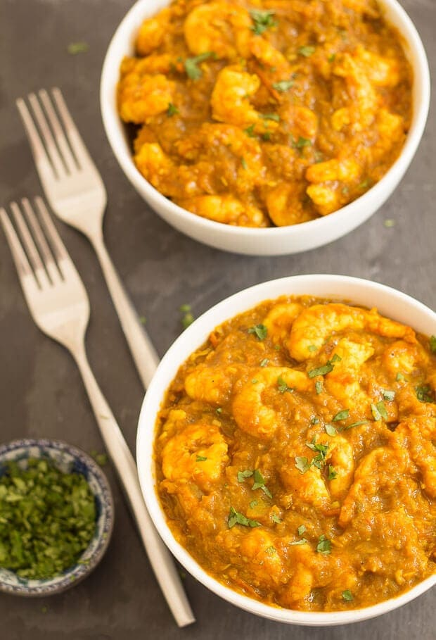 Mild South Indian Prawn Curry Neils Healthy Meals