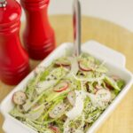 Cabbage and Radish Slaw