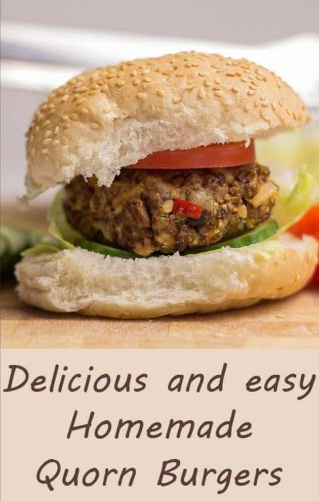 Easy and tasty homemade Quorn burgers recipe and video. An ideal vegetarian meat substitute for you or your vegetarian friends cooked on your stove, or on your BBQ. #neilshealthymeals #recipe #quorn #quornburgers #homemade #meatfree #meatfreeburgers #vegetarian