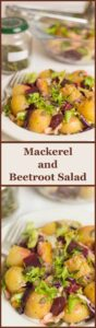 Mackerel Beetroot Salad Pin