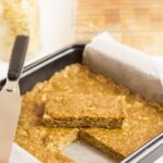 No-Bake Almond Oat Bars Featured Image