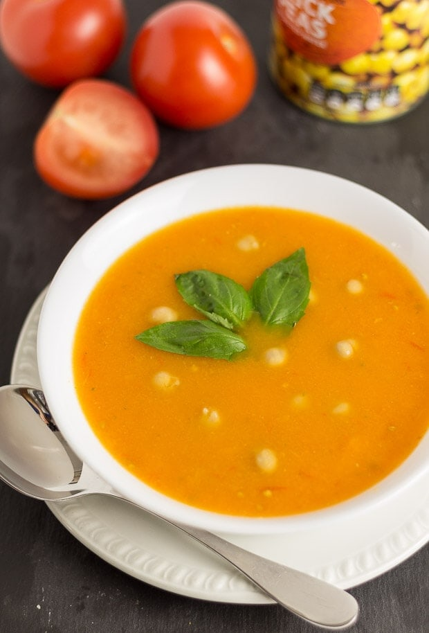 Tomato and Chickpea Soup