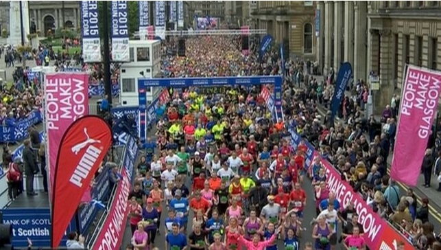 Great Scottish Run George Square