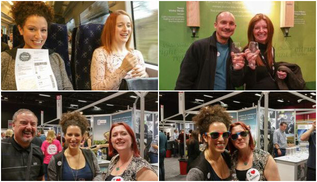 Tesco Wine Fair Collage