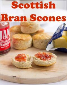 Scottish bran scones recipe shows you how to make easy, delicious and healthy scones. It's a traditional recipe and uses minimal ingredients. Amazing served with a little butter and jam! #neilshealthymeals #recipe #scottish #bran #scones