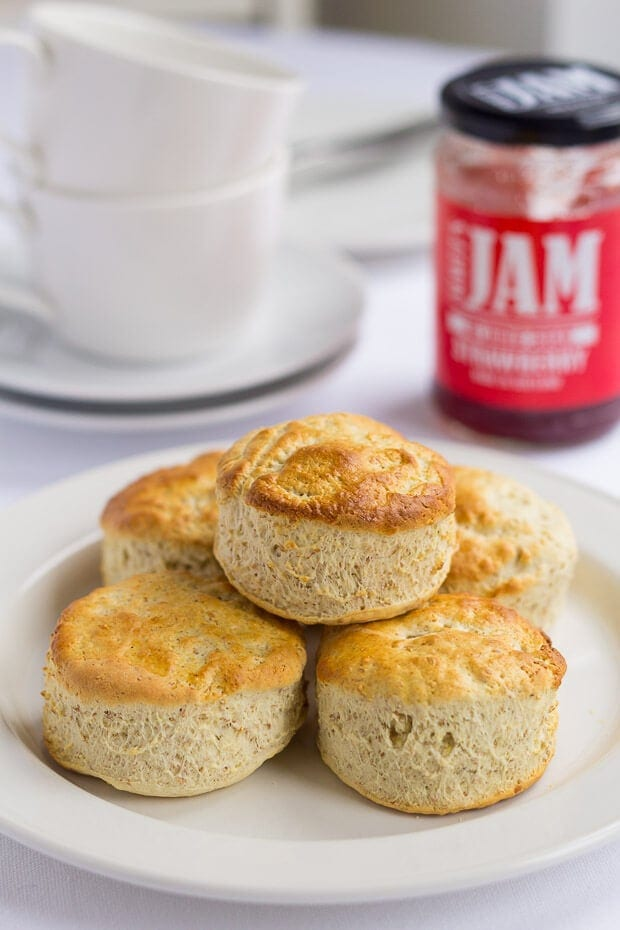 Scottish bran scones recipe neils healthy meals for Recipes with minimal ingredients