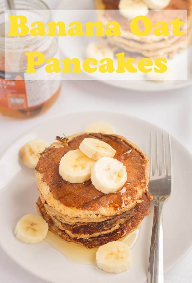 Healthy banana oat pancakes that are not only good for you but also delicious and extremely easy to make. Just put all of the ingredients into a blender or food processor and hey-presto that's you ready to cook them in just 20 minutes! Watch the recipe video to see how easy these are to make!#neilshealthymeals #recipe #breakfast #breakfastrecipe #healthy #pancakes #oatpanckes
