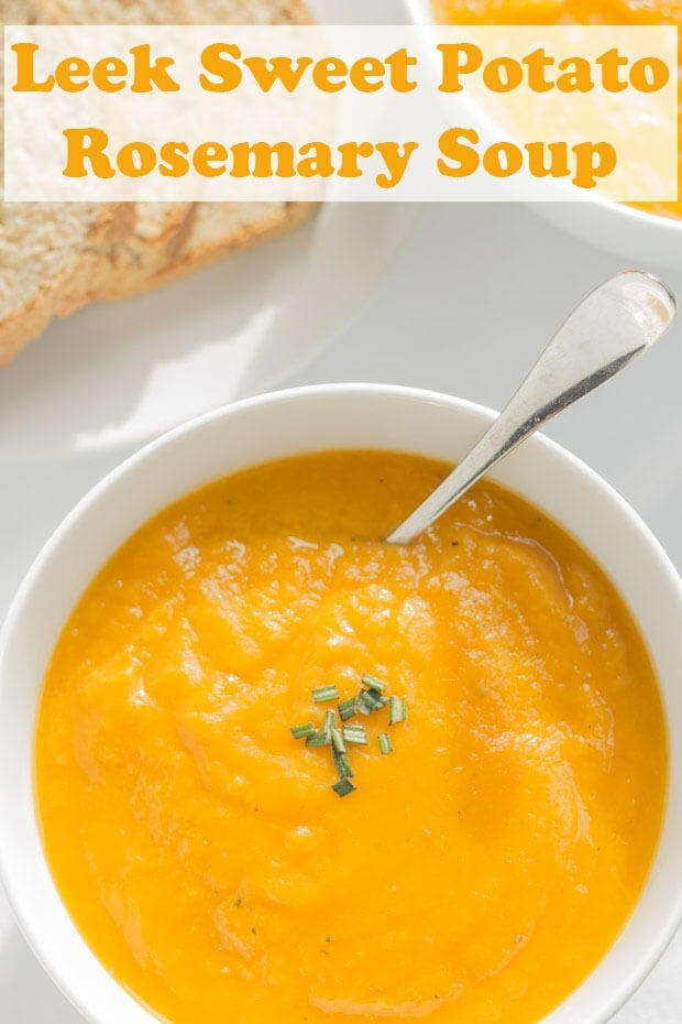 Leek Sweet Potato And Rosemary Soup Neils Healthy Meals