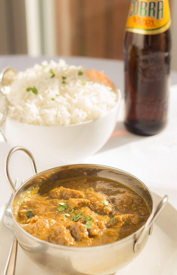 Creamy Coconut Beef Curry