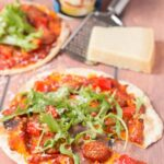 30 Minutes Easy Flatbread Pizza Recipe