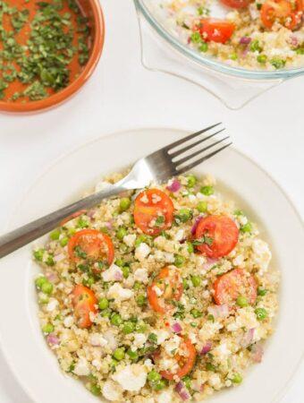 Feta and Lemon Quinoa Salad