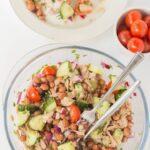Borlotti Bean and Tuna Salad