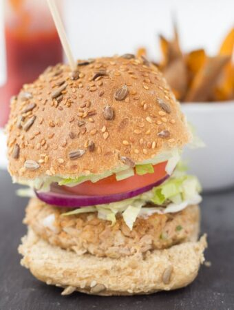Quick Healthy Tuna Burgers