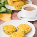 Sweet Potato Spinach Scones
