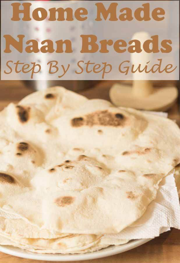 Home made naan bread step by step guide. This easy recipe hows you how to make this delicious healthy version for scooping up your favourite curries with! Made by using Greek yogurt and no butter/ghee, you'll never want to go back to shop bought or unhealthier versions once you've made this! #neilshealthymeals #recipe #homemade #naanbread #naan
