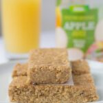 No Bake Apple and Cinnamon Oat Bars