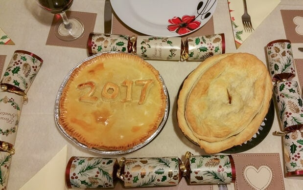 January 2017 Hogmanay Pies