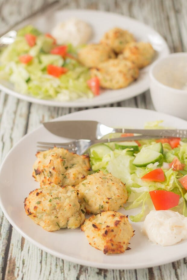 These oven baked fish puffs make for a delicious quick healthy budget meal. Easy to make and healthier than fried they're really good fun for kids to make too!